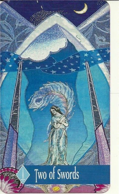 The Enchanted Tarot - Two of Swords