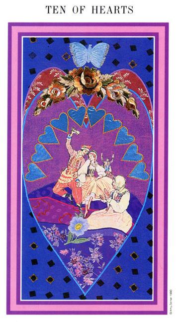 The Enchanted Tarot - Ten of Hearts