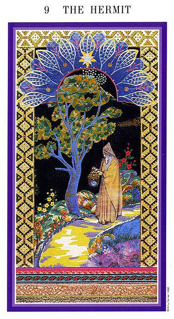 The Enchanted Tarot - The Hermit-spiritual-advisor-tarot-decks