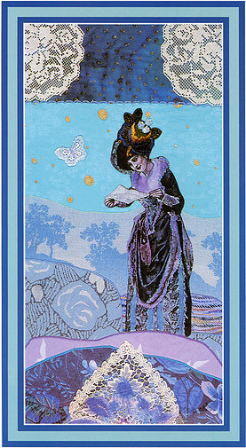 The Enchanted Tarot - Princess of Swords