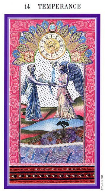 The Enchanted Tarot - Temperance