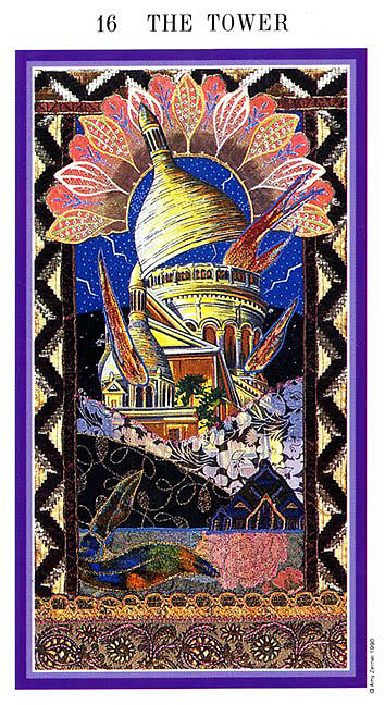The Enchanted Tarot - The Tower