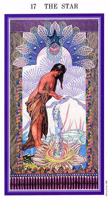 The Enchanted Tarot - The Star
