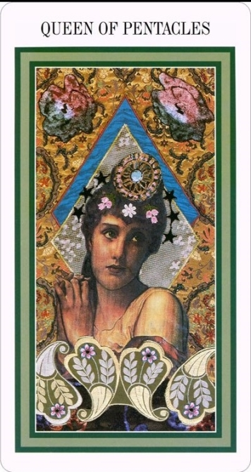 The Enchanted Tarot - Queen of Pentacles