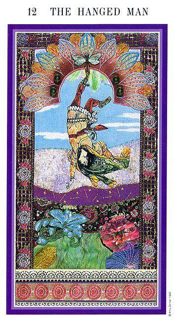 The Enchanted Tarot - The Hanged Man
