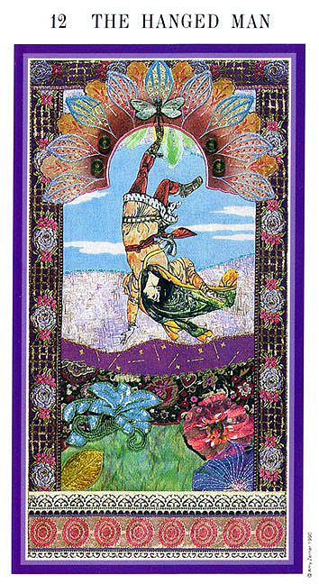 The Enchanted Tarot - The Hanged Man