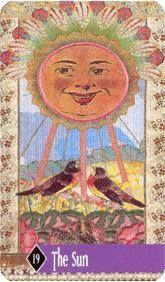 The Enchanted Tarot - The Sun
