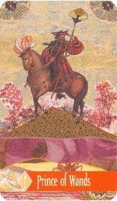 The Enchanted Tarot - Prince of Wands