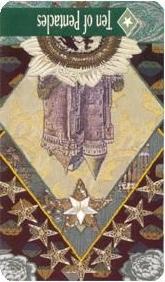 The Enchanted Tarot - Ten of Pentacles