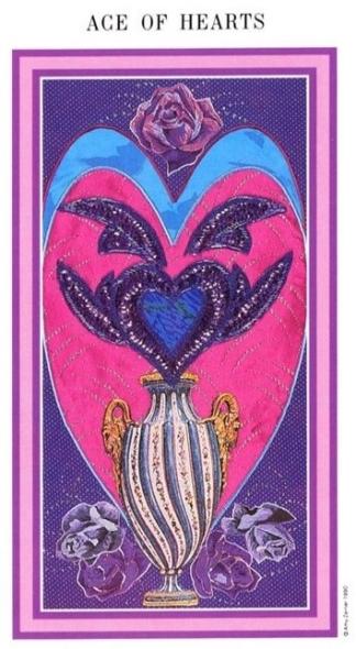 The Enchanted Tarot - Ace of Hearts