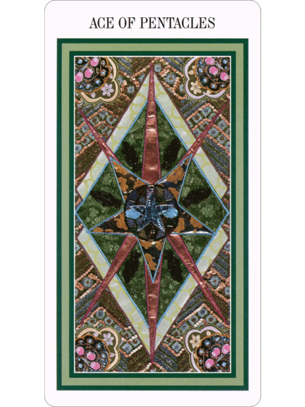 The Enchanted Tarot - Ace of Pentacles