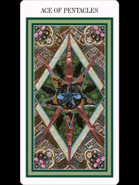 The Enchanted Tarot - Ace of Pentacles