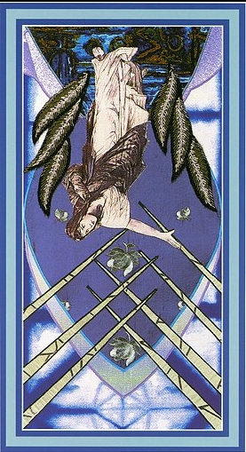 The Enchanted Tarot - Seven of Swords