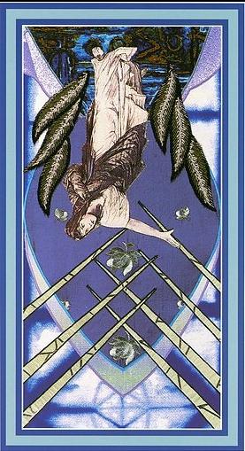 The Enchanted Tarot - Seven of Swords