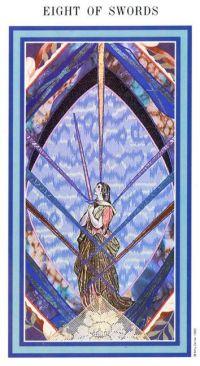 The Enchanted Tarot - Eight of Swords