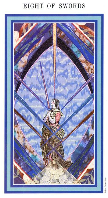 The Enchanted Tarot - Eight of Swords