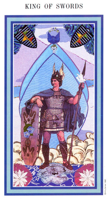 The Enchanted Tarot - King of Swords