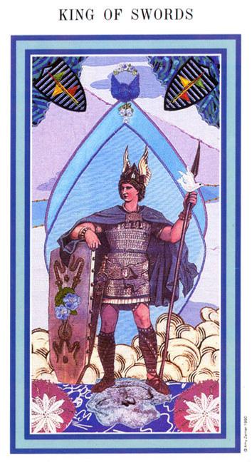 The Enchanted Tarot - King of Swords