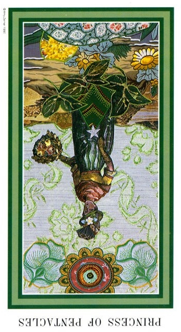 The Enchanted Tarot - Princess of Pentacles