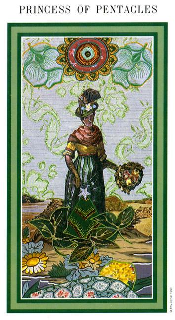 The Enchanted Tarot - Princess of Pentacles